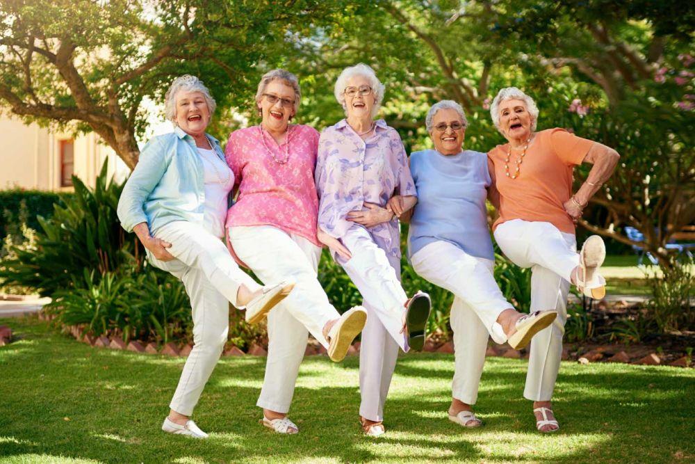 Musik und Bewegung für Senioren